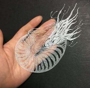 Кири - японское искусство вырезания из бумаги