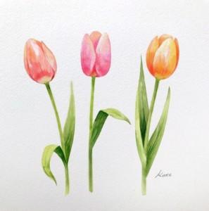 Простые уроки рисования цветов