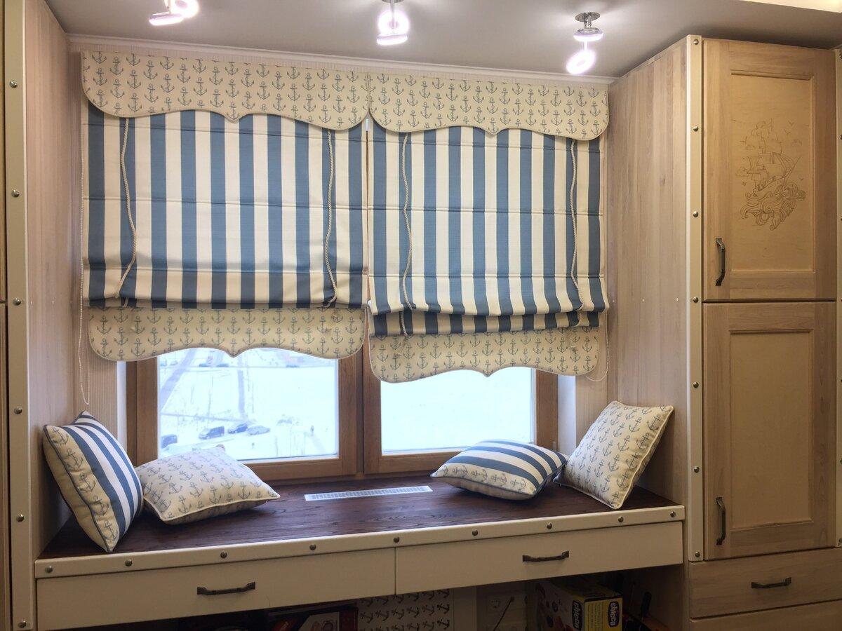 Советы дизайнера как выгодно использовать римские шторы в интерьере квартиры