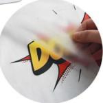 Логотип группы (DTF (Direct to film) печать на текстиле)
