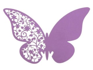 Рассадочная карточка бабочка 7