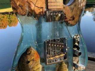 гитара смола