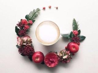 кофе и цветы 3