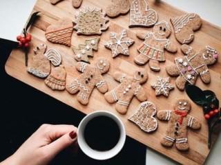 новогоднее печенье 4