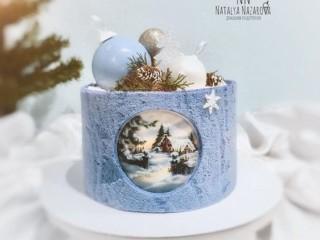 зимний торт 3