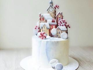 зимний торт 4