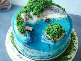 Торт желе 1