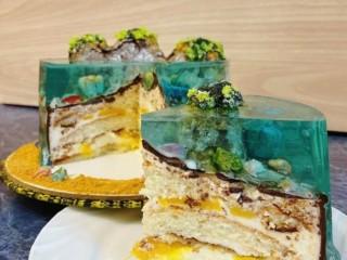 Торт желе 2