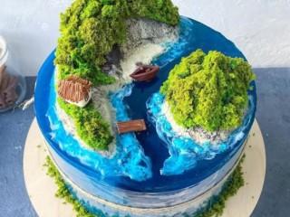 Торт желе 3