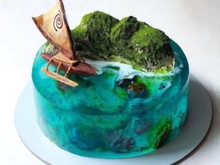 Торт желе 4