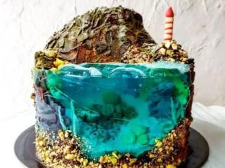 Торт желе 7