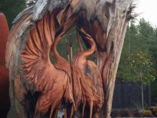 работа из дерева