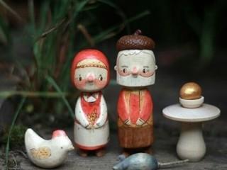 деревянные миниатюры 2