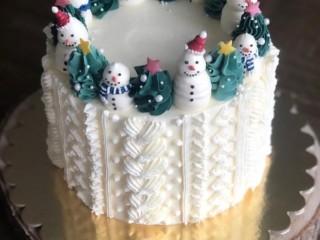 новогодний торт 1