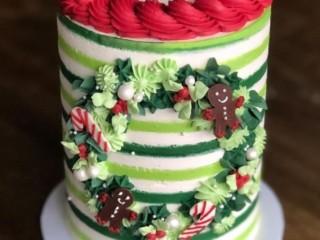 новогодний торт 3