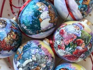 роспись шаров 5