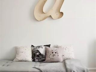 Буквы в интерьере 2