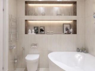 светлая ванная комната 2