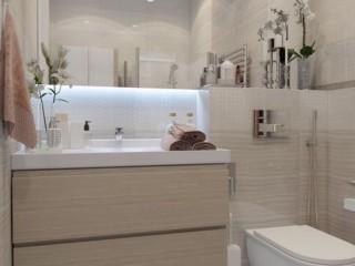 светлая ванная комната 3