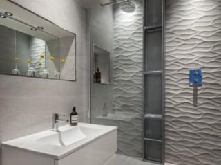 светлая ванная комната 4