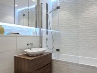светлая ванная комната 5