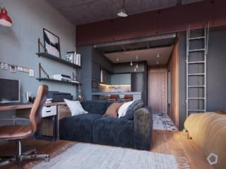 Квартира студия5