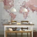 Карты в оформлении и декоре интерьера