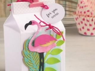 шаблон фламинго 1