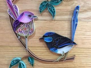квиллинг птицы