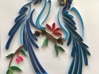 квиллинг птицы 4