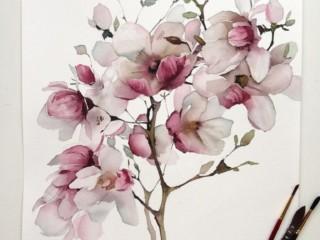 рисунок цветы 1