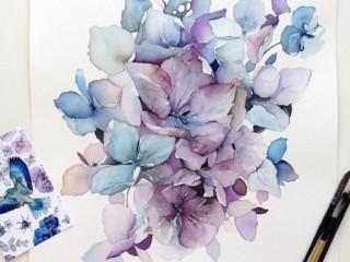 рисунок цветы 2