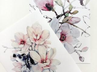 рисунок цветы 4