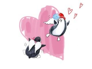 пингвины арт 1