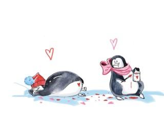 пингвины арт 4