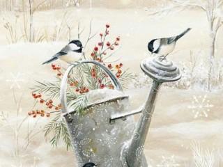 зимние иллюстрации 3